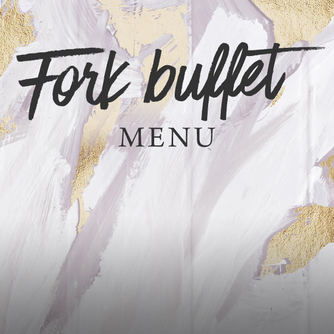 Fork buffet menu at The Salisbury Arms