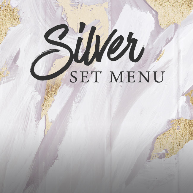 Silver set menu at The Salisbury Arms
