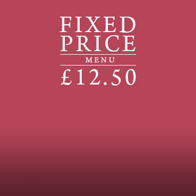 Fixed Price Menu at The Salisbury Arms